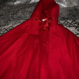 American Girl Red cloak